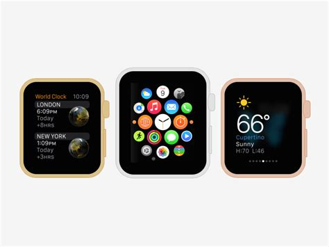 Design App Smartwatch | mock up smartwatch apps with the css apple watch generator
