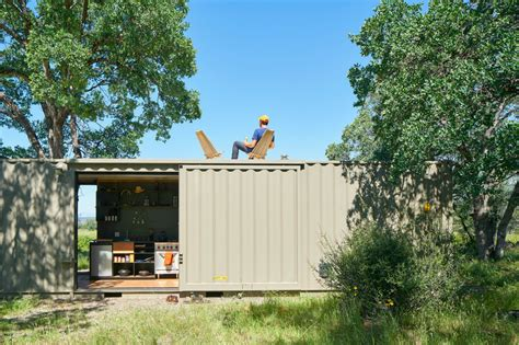 shipping container homes green off the grid shipping off grid shipping container cabin has a warm wooden
