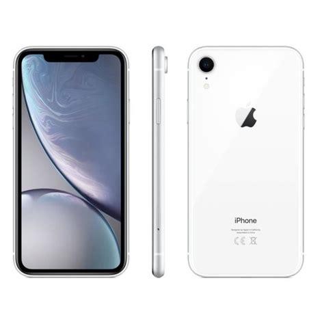 apple iphone xr blanc 64 go achat smartphone pas cher avis et meilleur prix cdiscount