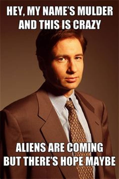 X Files Meme - mulder