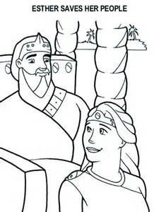 free coloring pages of esther and mordecai