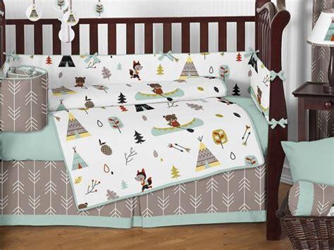 Boys Crib Bedding Sets Sweet Jojo Designs Bedding Sets Outdoor Adventure Nature Fox Animals Boys Baby Bedding 9