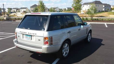galaxy range rover find used 2004 range rover with galaxy tablet in saint