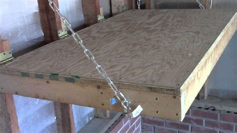 Garage Build Plans how to build a sto away work bench youtube