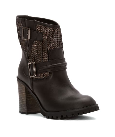 laundry boots laundry s leafy boots in brown lyst
