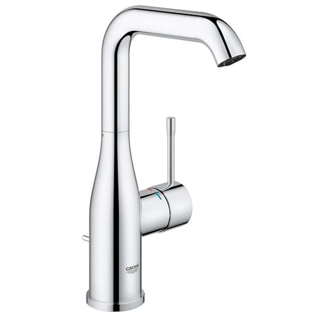 grohe concetto 4 in centerset single handle bathroom faucet in starlight chrome 34270001 the grohe concetto single hole single handle high arc bathroom