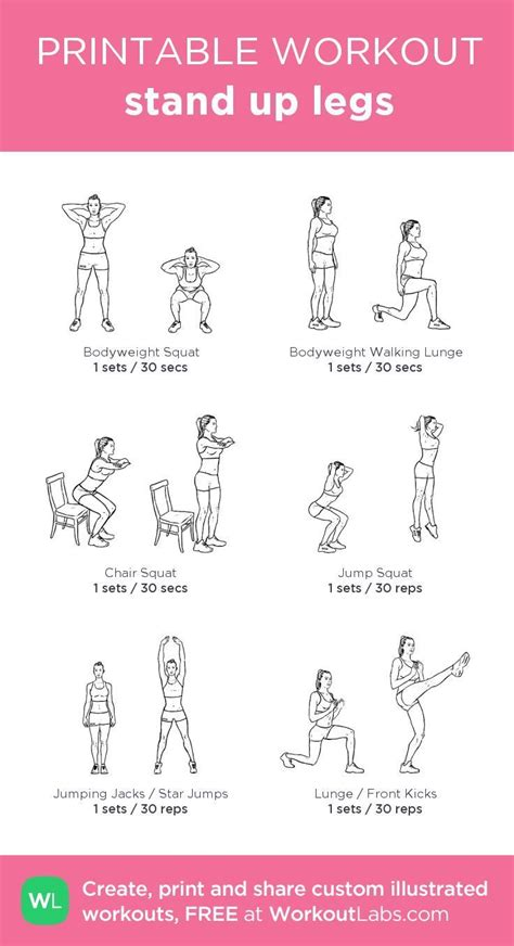 17 best ideas about leg workout routines on