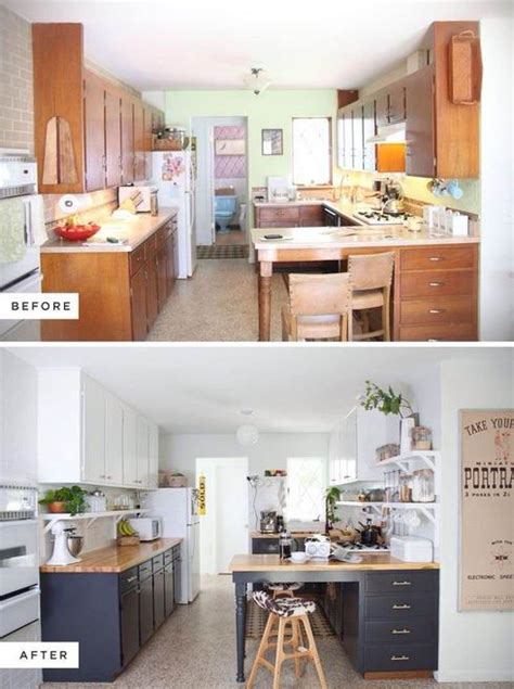 paint kitchen cabinets before and after memes 10 fa 231 ons de transformer ses armoires de cuisine sans les