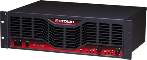 Power Lifier Crown Ce 1000 crown ce2000 power zzounds