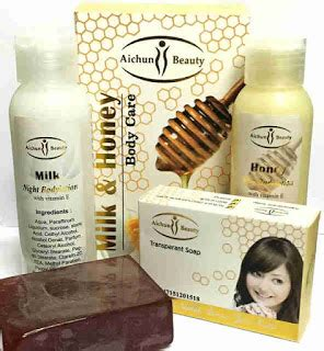 Paket Kecantikan Alami Wanita Modern paket lotion aichun pusat stokis agen stokis