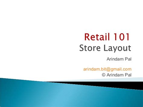 warehouse layout slideshare session 4 retail store layout