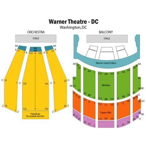 warner theater seating chart esperanza spalding october 16 tickets washington warner