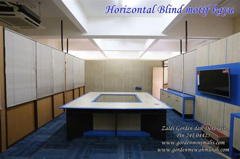 Kayu Multiplex Per Meter model gorden horizontal blind motif kayu model gorden