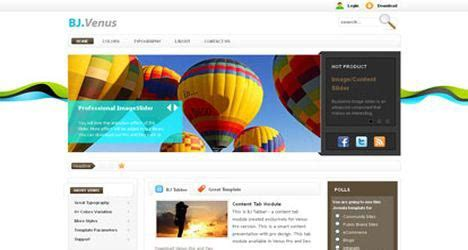 template joomla venus joomla template template joomla free download template