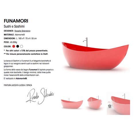 materiale vasca da bagno vasca arredo bagno in adamantx 174 funamori made in italy