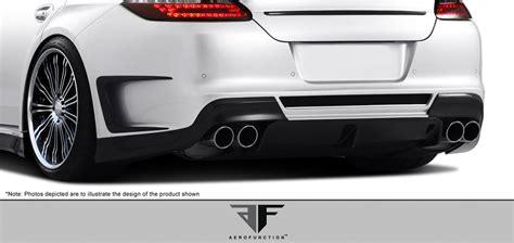 porsche widebody rear carbon fiber accessory body kit for 2011 porsche panamera