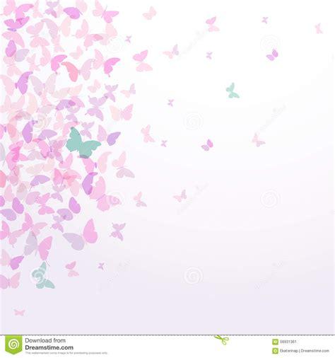 wallpaper butterfly pink vector spring summer card design colorful pink butterflies set on