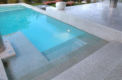 Million Dollar Decorating by Verona Terrazzo Modern Pool Los Angeles By Soli