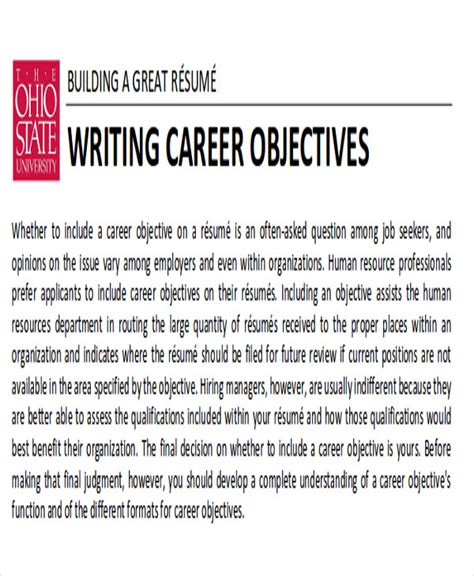 sle career objectives for it professionals it professional career objective 28 images 7 career