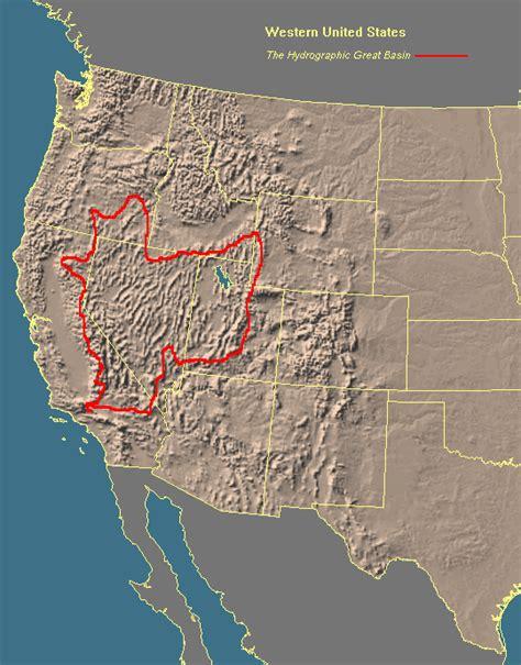 great basin on us map lassen regional project