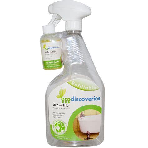 bathtub scum remover ecodiscoveries tub tile soap scum remover 2 fl oz 60
