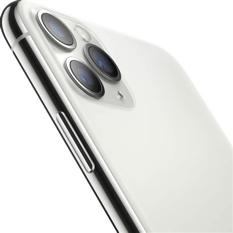telefon mobil apple iphone  pro max gb silver emagro
