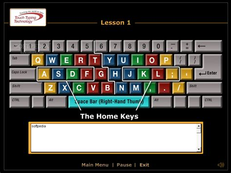 keyboard layout for typing touch typing diagram images
