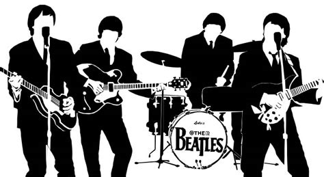 The Beatles Siluet 01 Btl homenaje artistico a the beatles taringa