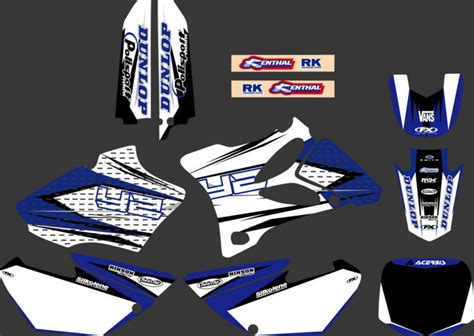 Yamaha Yz 85 Aufkleber by 0025 New Style Team Graphics Backgrounds Decals Stickers