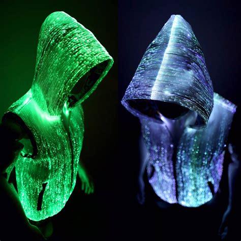 light up hoodie for men reversible 16 million colors