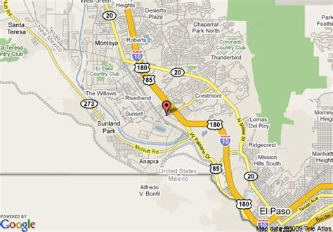 el paso texas on a map map of studio plus el paso west el paso