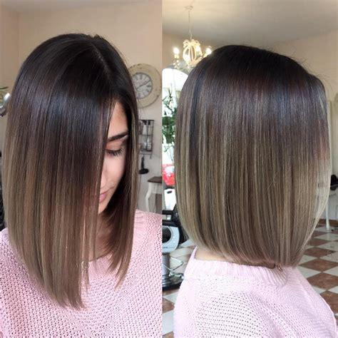 hair color for medium hair 10 balayage ombre hair styles for shoulder length hair