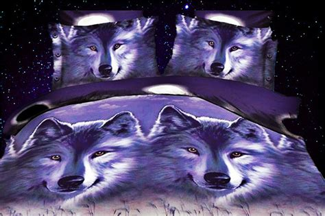 Wolf Bed Set by Get Cheap Wolf Print Bedding Aliexpress