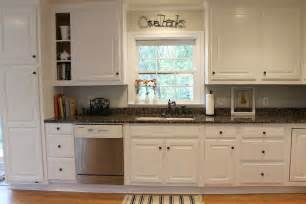Paint Kitchen Cabinets White Before And After by Paint Kitchen Cabinets White Before And After Kitchen