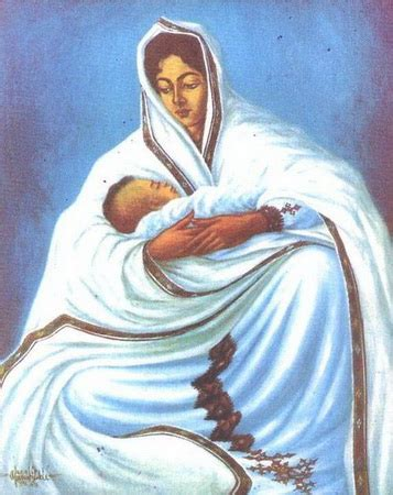Biography Of Artist Afewerk Tekle | mother ethiopia 1963 afewerk tekle wikiart org