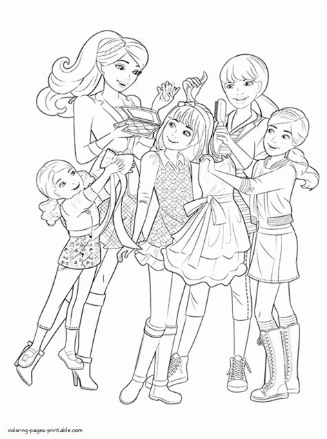barbie stacie coloring pages barbie and her sisters in a pony tale coloring pages 7