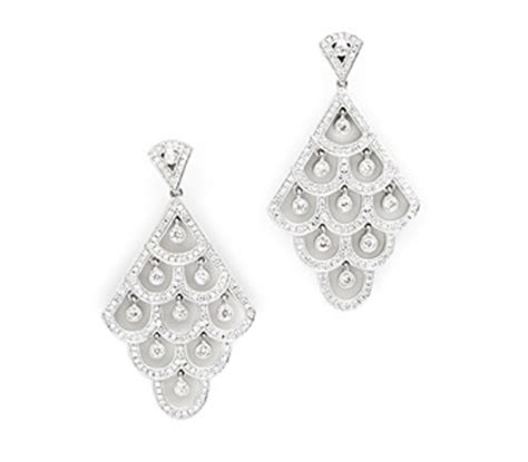 Fabworthy Borrowing Jewels For Your Wedding by Borrow Bridal Jewelry Adkins Layered Earrings