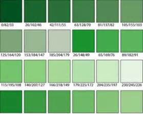 all green colors different shades of green publications