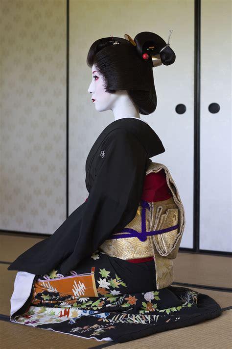 Gbc F Leat White Kimono Outher geisha