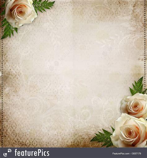 Templates: Vintage Beautiful Wedding Background   Stock