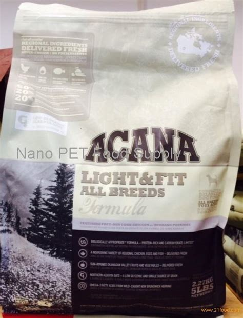 acana light fit food acana light and fit dogs food products acana