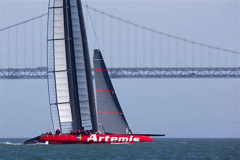 sailboats used in competitive sailing artemis sailor s death sparks review of america s cup