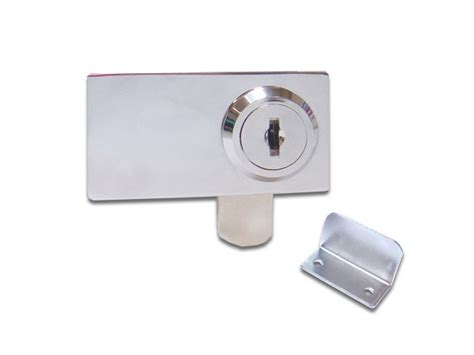 Swinging Glass Cabinet Door Locks Cabinet Swinging Glass Door Lock 410 3