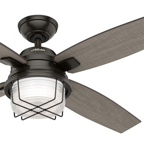 outdoor ceiling fans with led lights ceiling awesome hunter outdoor ceiling fan hton bay