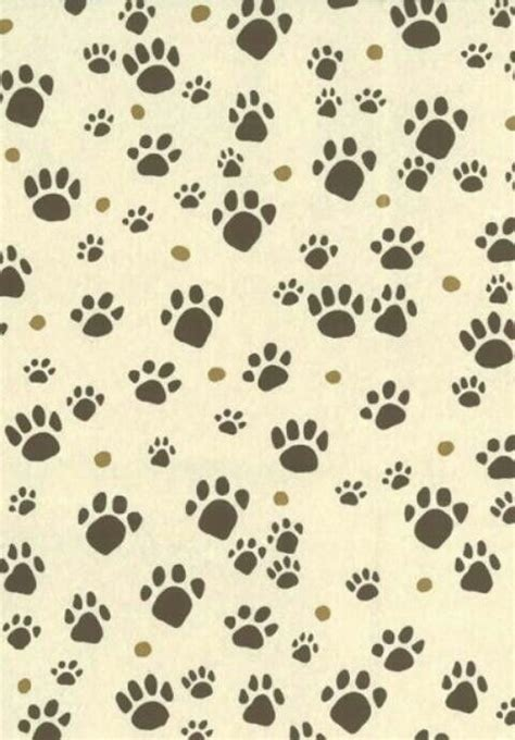 patitas de perro cats paw print background print