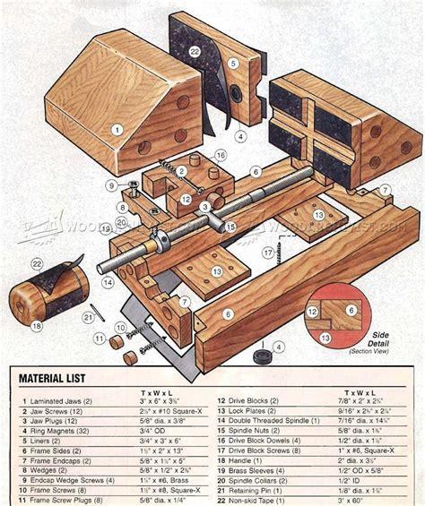 woodworking vise plans diy drill press vise woodarchivist