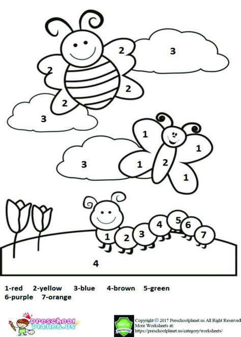 free printable spring worksheet for kids spring