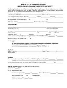 general application template best photos of general employment applications templates