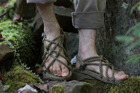 Handmade Rope Sandals - handmade rope sandals