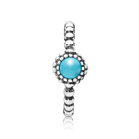 december birthstone turquoise silver december birthstone ring pandora